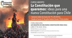 afiche inauguracion curso derecho constitucion